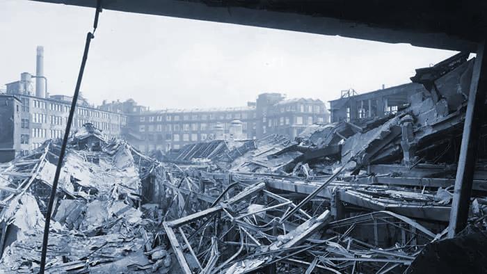 یکی از کارخانههای بوش در جنگ